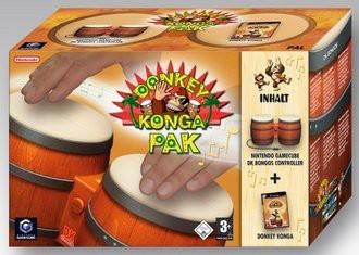 Donkey Konga inkl. Bongocontroller