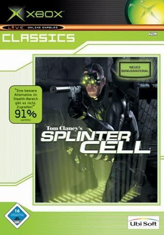 Splinter Cell - Tom Clancy + Map Bonus - Xbox Classics