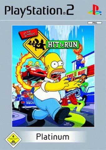 Simpsons - Hit & Run - Platinum