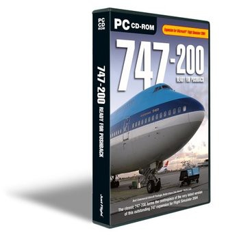 747-200 Ready for Pushback [UK Import]