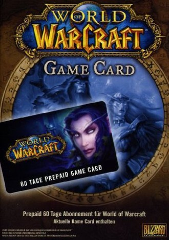 World of Warcraft - GameCard (60 Tage Pre-Paid)