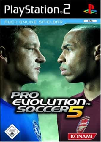 Pro Evolution Soccer 5 [Platinum]