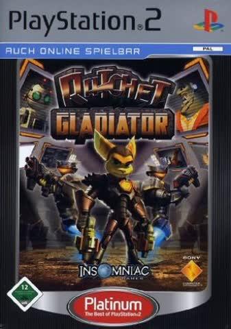 Ratchet: Gladiator - Platinum