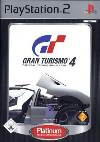 Gran Turismo 4 Platinum