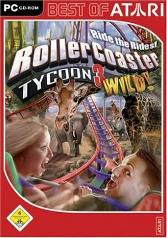 RollerCoaster Tycoon 3 Wild! Add-On (PC)