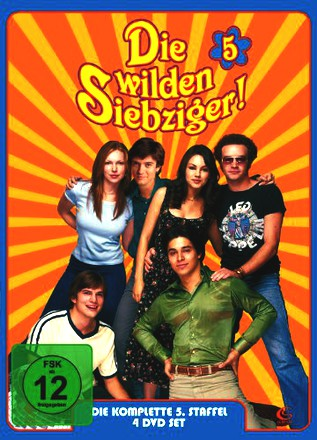Die wilden Siebziger - Die komplette 5. Staffel (4 DVDs - Digipack)