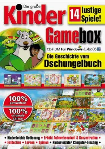 Kinder Gamebox - Dschungelbuch