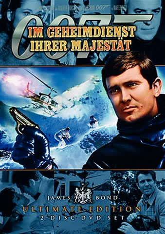 James Bond im Geheimdienst Ihrer Majestät [Import allemand]