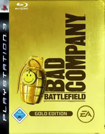Battlefield Bad Company - Limited Gold Edition