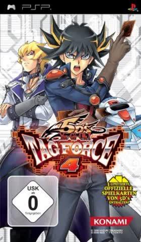 Yu-Gi-Oh! 5D's Tag Force 4 [Sony PSP]