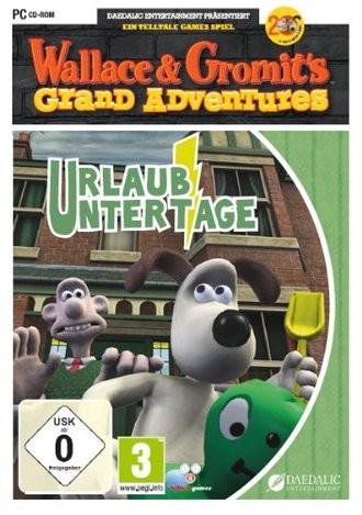 Wallace und Gromit - Urlaub unter Tage