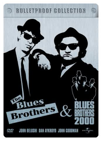 Blues Brothers/Blues Brothers 2000 (Bulletproof Collection - 2 DVDs im Steelbook)