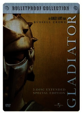 Gladiator - Extended Special Edition - Bulletproof Collection (3 DVDs im Steelbook)