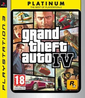 Gta 4 - Grand Theft Auto 4 Platinum