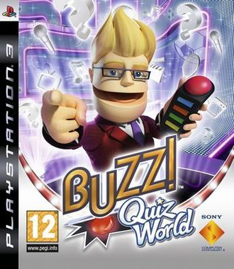 Buzz! Quiz World (Only Game)