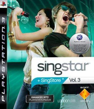 Singstar Vol. 3 (Only Game)