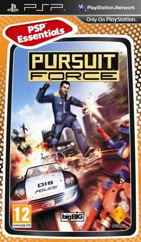 Pursuit Force [Essentials] - [Sony PSP]