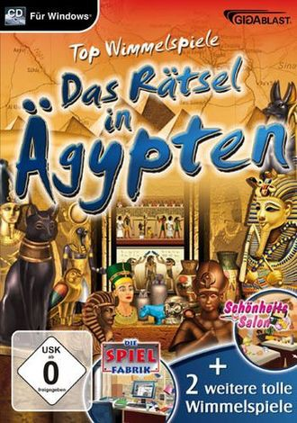 Rätsel In Ägypten - Wimmelspaß