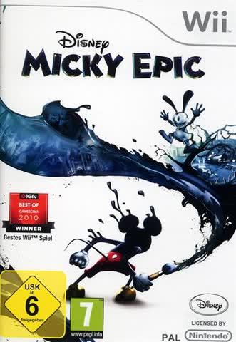 Disney Micky Epic - Nintendo Wii