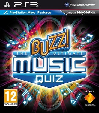 Buzz! The Ultimate Music Quiz [Playstation Move Features]