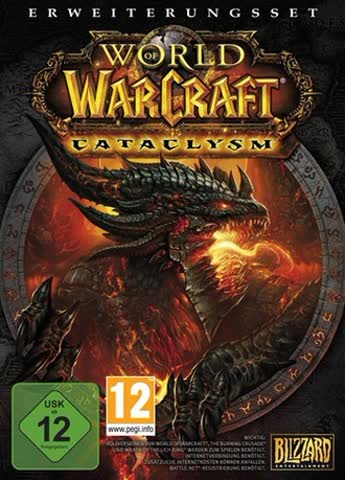 World of Warcraft Cataclysm Expansion Set - Mac, Windows