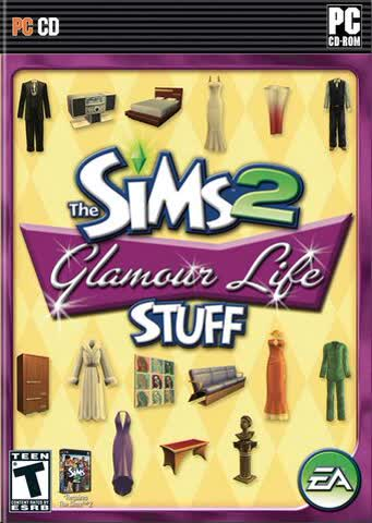 THE SIMS 2 Glamour Life Stuff