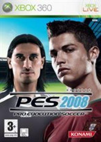 pro evoluton soccer 2008