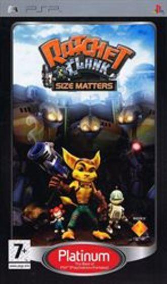 PSP Ratchet & Clank Size Matters Platinum (PEGI)