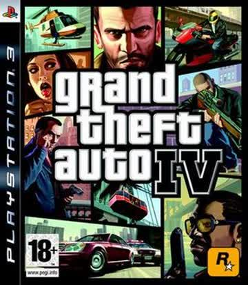 GTA 4 PS-3 AT [German Version]