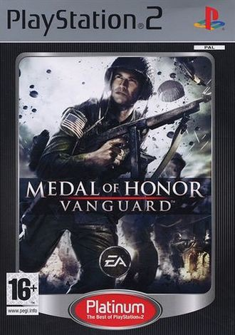 Medal Of Honor Vanguard Platinum