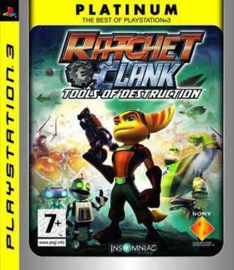 Ratchet & Clank: Tools Of Destruction Platinum