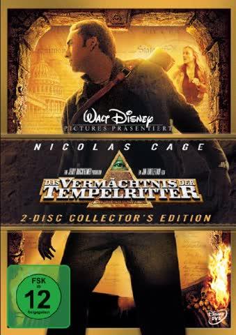 Das Vermächtnis der Tempelritter (2-DVDs mit O-Ring)