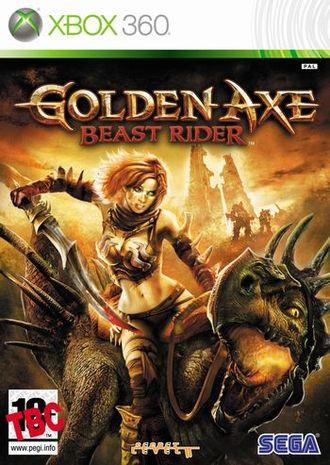Sega GOLDEN AXE UNCUT - Konsolen-Spiele