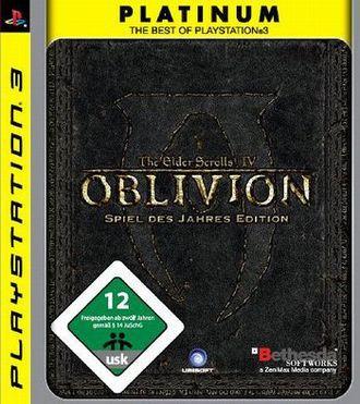 The Elder Scrolls 4 - Oblivion: Game Of The Year Edition Platinum