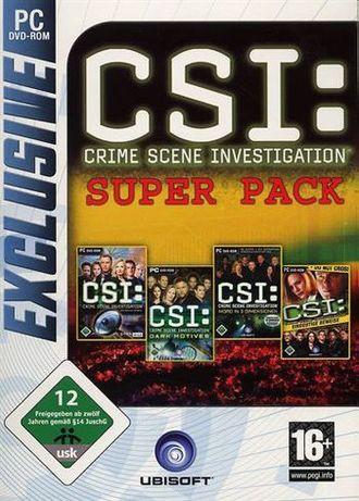 Exclusive: Csi: Super Pack