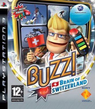 Buzz! Brain Of Switzerland (Only Game)