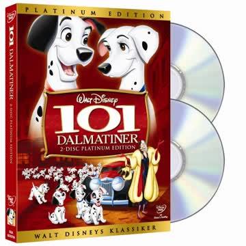 101 Dalmatiner (Platinum Edition) [Special Edition] [2 DVDs]