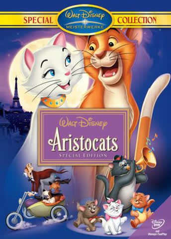 DVD ARISTOCATS