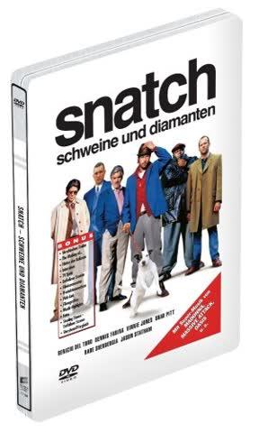 Snatch - Schweine und Diamanten - Steelbook Edition [Special Edition]