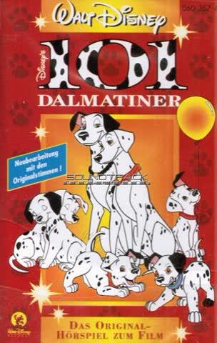 Pongo und Perdita: 101 Dalmatiner - Original Hörspiel zum Film [Musikkassette]