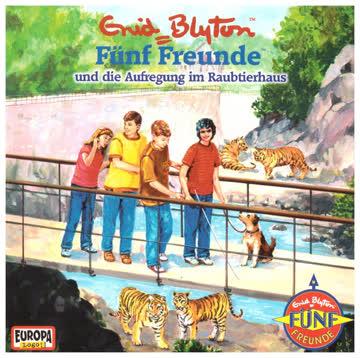 Fünf Freunde  und die Aufregung im Raubtierhaus  / Folge 61 (Hörkassette)