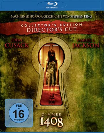 Zimmer 1408 [Blu-ray] [Director's Cut] [Collector's Edition]