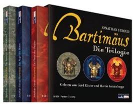 Die Bartimäus Trilogie - Das Amulett von Samarkand - Das Auge des Golem - Die Pforte des Magiers