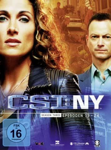 csi - NY season three episoden 13 - 24
