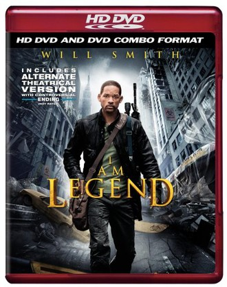 I Am Legend (Combo HD DVD and Standard DVD)