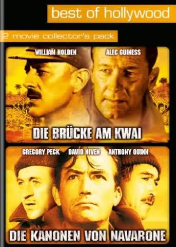 Die Brücke am Kwai/Die Kanonen von Navarone - Best of Hollywood (2 DVDs)