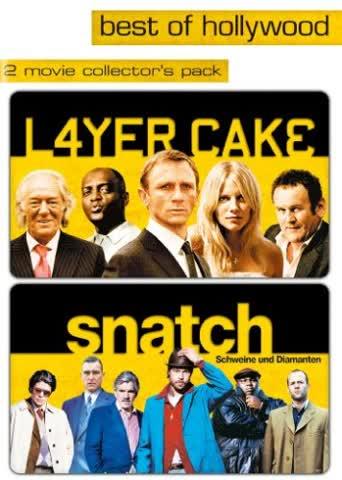 Layer Cake/Snatch - Schweine und Diamanten - Best of Hollywood (2 DVDs)