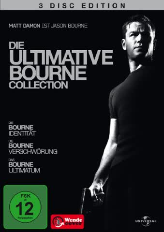 Die ultimative Bourne Collection [DVD]