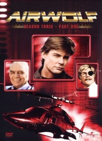 Airwolf - Season 3, Part 1 [3 DVDs]