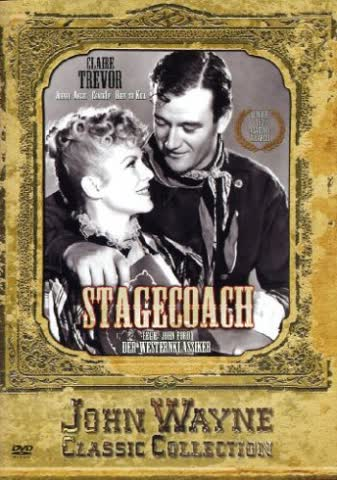 WAYNE, John Stagecoach (John Ford Classic)